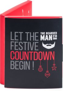 The Bearded Man Company adventskalender med skjeggolje