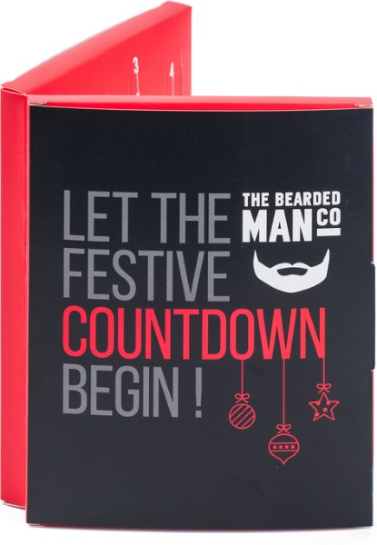 The Bearded Man Company Let the Festive Countdown Begin!