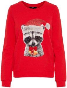Vero Moda Animal Printed Christmas Sweater