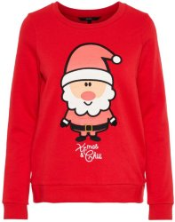 Vero Moda Printed Christmas Sweater