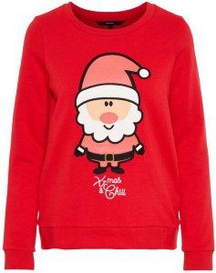 Vero Moda Printed Christmas Sweater