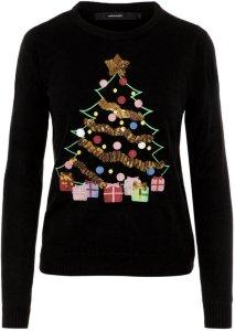 Vero Moda Christmas Knitted Pullover (juletre)