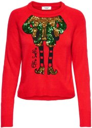 Only Elfie Christmas Knitted Pullover