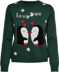 Only Love You Christmas Knitted Pullover