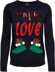 Only Xmas Love Christmas Knitted Pullover
