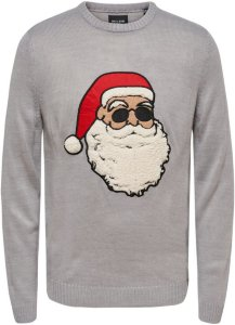Only Santa Christmas Knitted Pullover