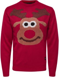 Only Rudolph Christmas Knitted Pullover