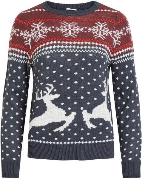 Vila Christmas Knitted Pullover