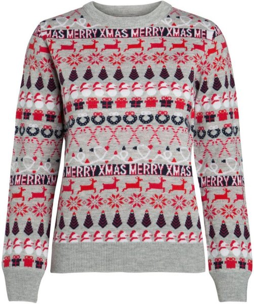 Pieces Long Sleeved Christmas Pullover