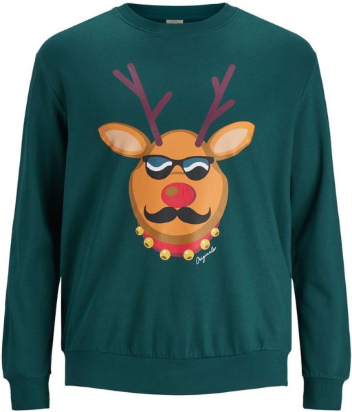 Jack & Jones Xmas Sweatshirt Pluz Size (Rudolf)