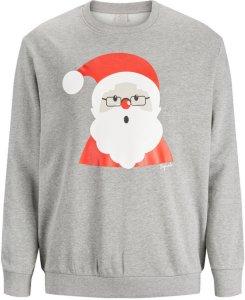 Jack & Jones Xmas Sweatshirt Plus Size (Julenisse)