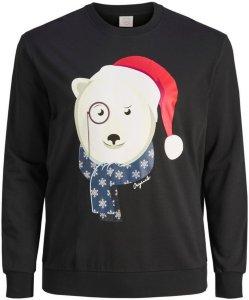 Jack & Jones Xmas Sweatshirt Plus Size (Isbjørn)