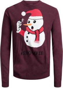 Jack & Jones Snowfie Christmas Sweatshirt