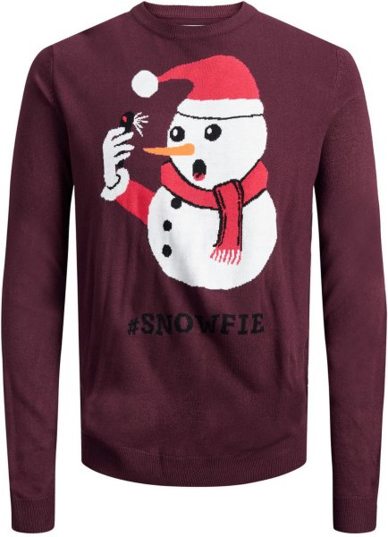 Jack & Jones Snowfie Christmas Sweatshirt