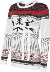 Mama.Licious Christmas Patterned Knit Maternity Sweater