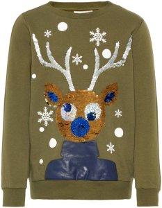 Name It Kids Rudolf Christmas Sweatshirt