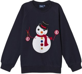 Max Collection Christmas Snowman Sweatshirt