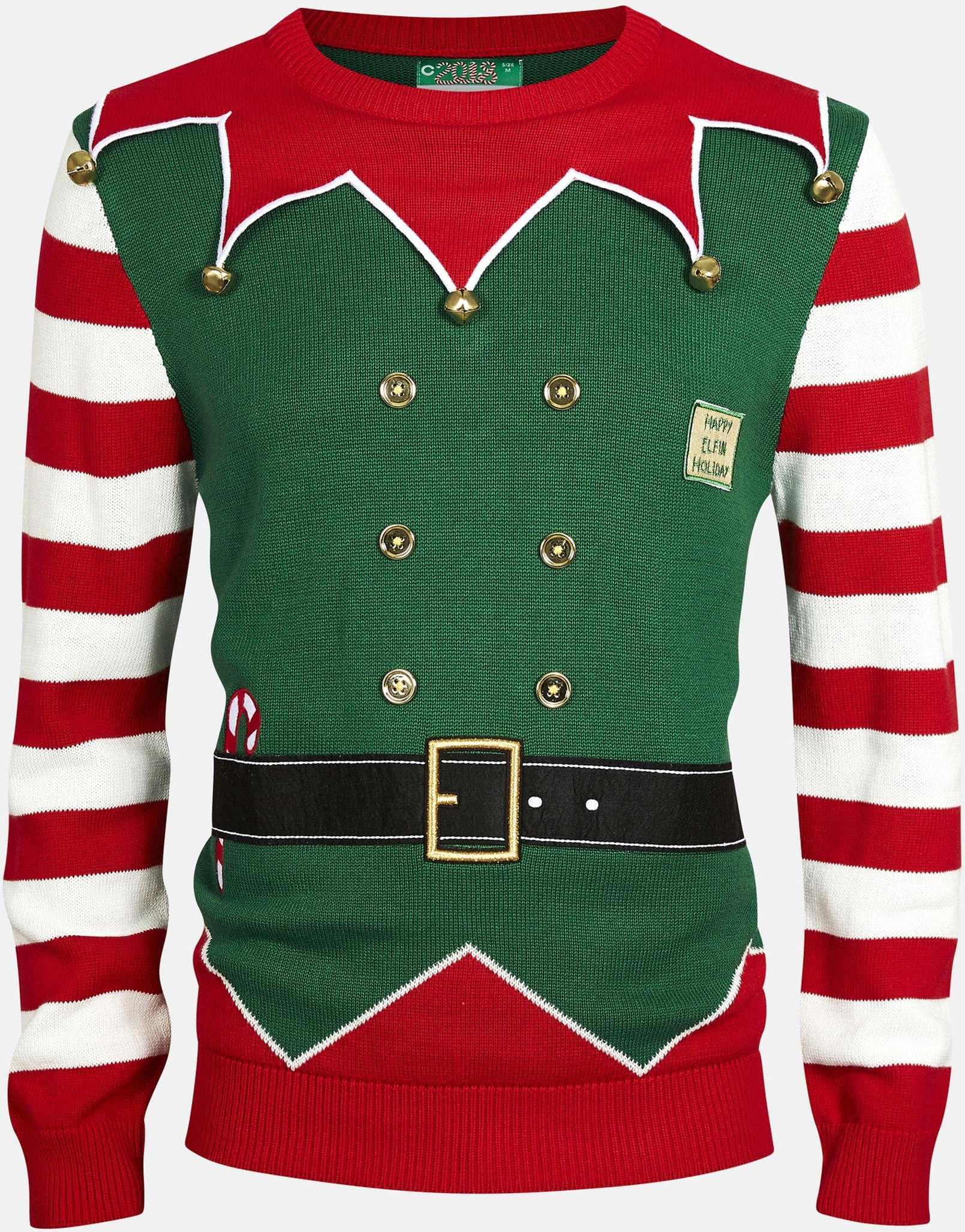 31c62fca Best pris på Cubus Grønn julegenser (Herre) - Se priser før kjøp i  Prisguiden