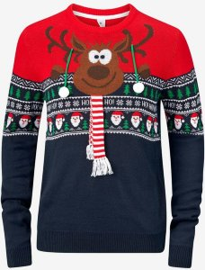 Speechless Ugly Christmas Sweater (Herre)