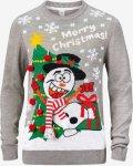 Ellos Christmas Pullover (Snømann)