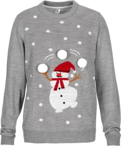 Ellos Snowman Christmas Pullover
