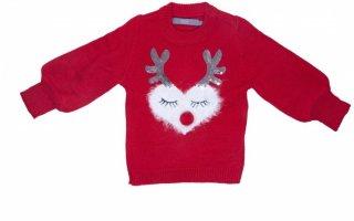 Noel Mini Hjerte julegenser