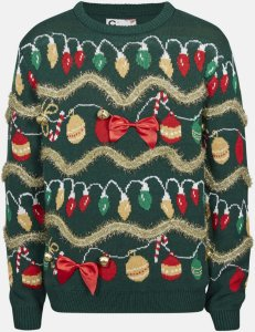 Cubus Girls Big julegenser (Grønn)