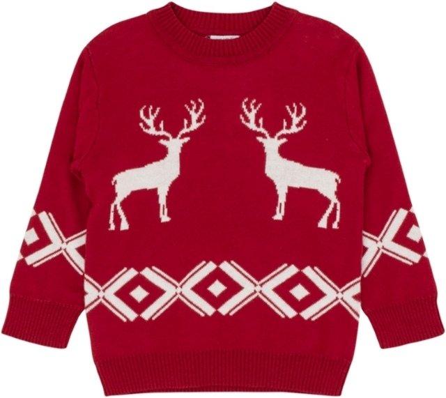 Hust & Claire julegenser (rød)