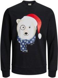 Jack & Jones Xmas Sweatshirt (Isbjørn)