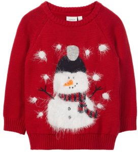 32b5fdfc Best pris på Name It Mini Christmas Pullover - Se priser før kjøp i ...