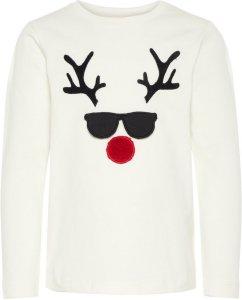 Name It Mini Christmas Appliqué T-shirt