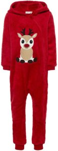 Name It Mini Christmas Reindeer One-piece