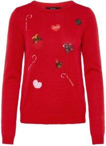 Vero Moda Christmas Knitted Pullover