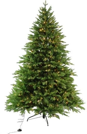 Luksus juletre Anita med 450 LED lys 210cm