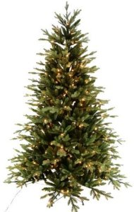 Luksus juletre Anette med 250 LED lys 180cm