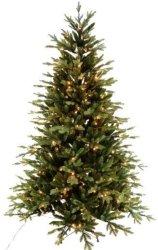 Luksus juletre Anette med 340 LED lys 210cm