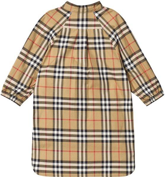 Burberry Antique Vintage Check Shirt Dress