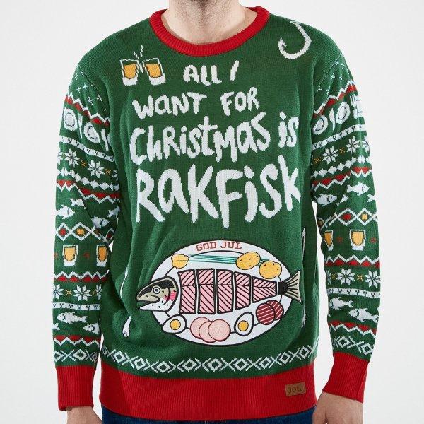 SillySanta All I Want Is Rakfisk (Herre)
