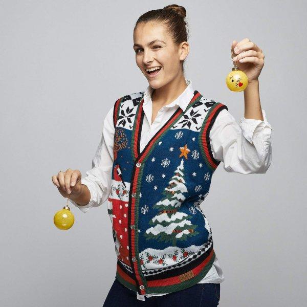 SillySanta Julevest (Dame)