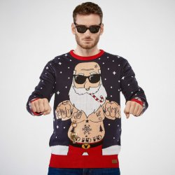 Jolly Bad Santa (Herre)
