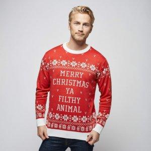 Julegenser (Herre), Filthy Animal – Julegenserbutikken