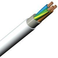 Reka Cables PFXP-kabel 3G6mm² FR 450/750V T500 1009816