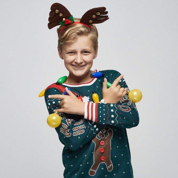SillySanta Pepperkake Julegenser til Barn