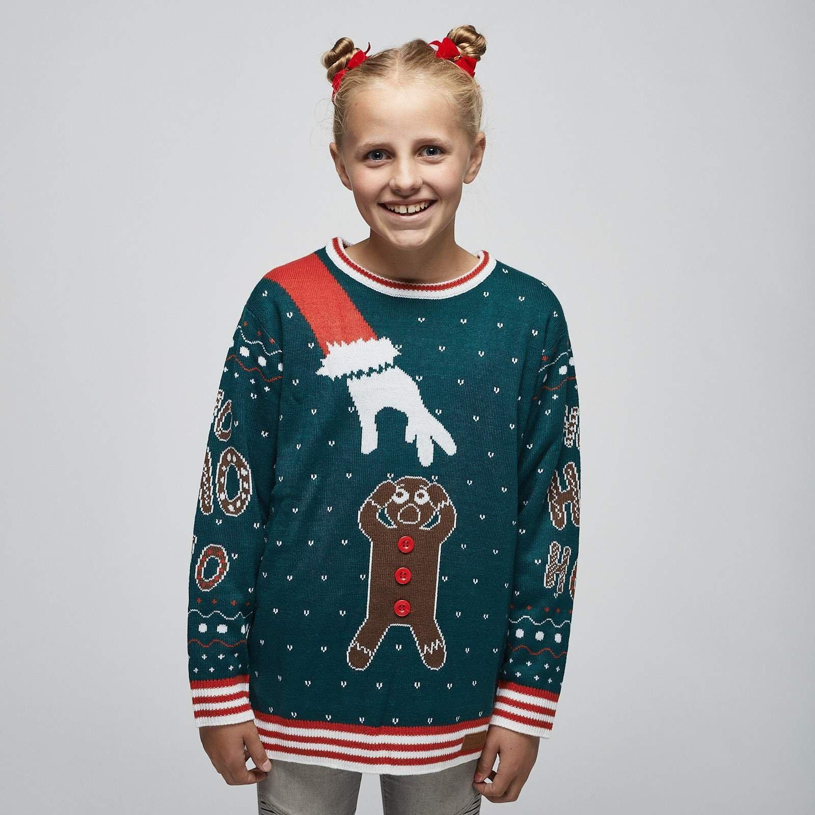 Best pris på SillySanta Pepperkake Julegenser til Barn Se