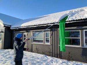 Snowfall Genial Snømåker for Tak (SM530-V2)