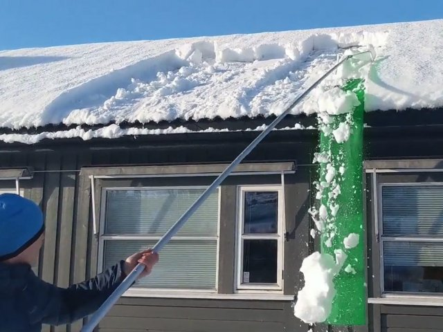 Snowfall Snømåker for Tak (SM530-V2)