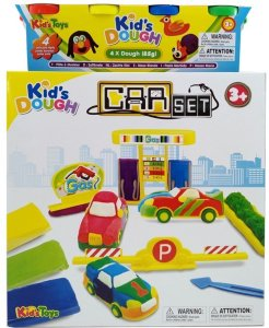 Kid's Dough Car Set