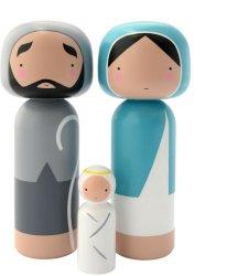 Lucie Kaas Sketch.inc Nativity Set