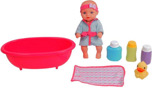 Baby Born Stoy Dukke med badekar