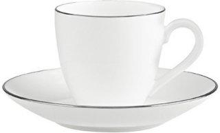 Villeroy & Boch Anmut Platinum No.1 espressokopp 10cl og skål